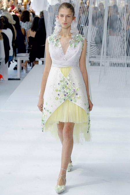 Delpozo - модные вечерние платья сезона весна/лето 2017