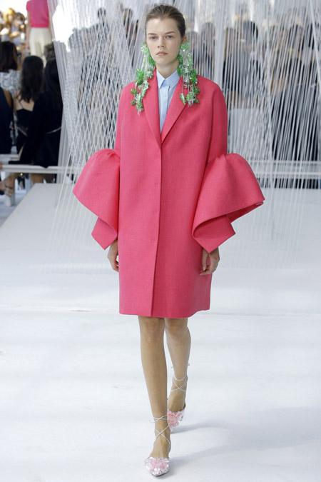 Delpozo - модные женские пальто весна/лето 2017