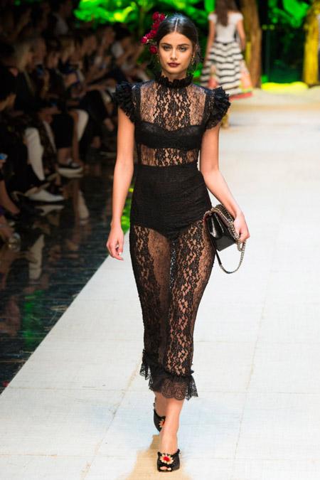 Dolce Gabbana - модные вечерние платья сезона весна/лето 2017