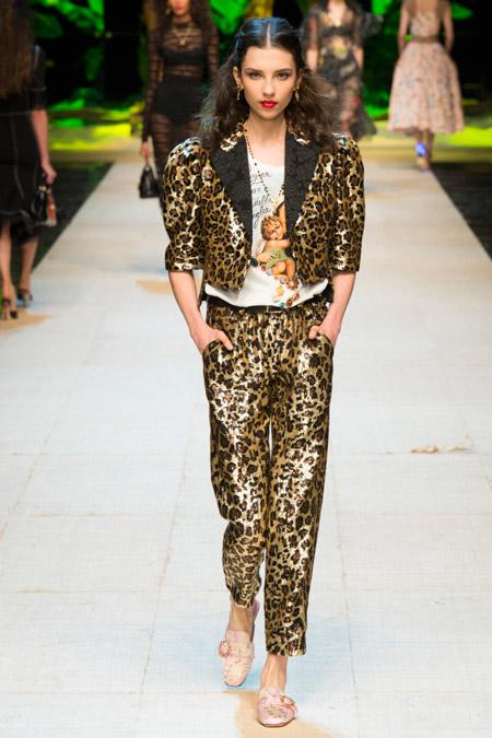 Dolce Gabbana - Модные женские костюмы сезона весна/лето 2017