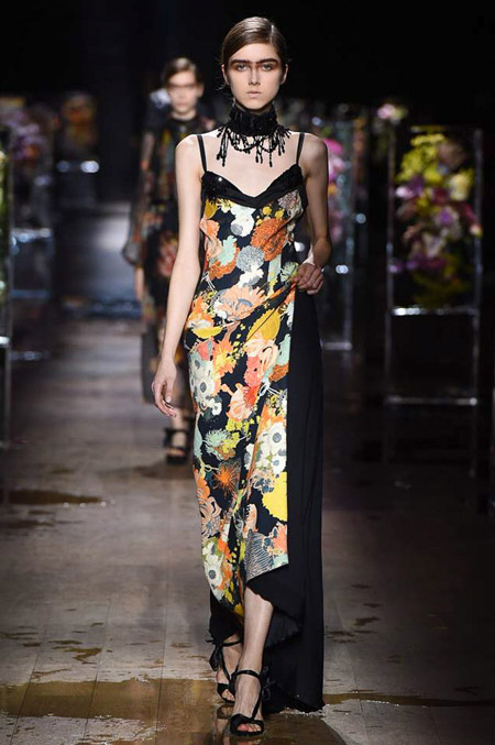 Dries Van Noten - модные вечерние платья сезона весна/лето 2017
