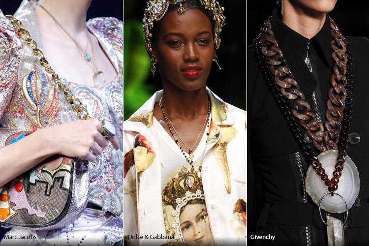 Модные аксессуары весна/лето 2017. Фото с показов: Marc Jacobs, Dolce & Gabbana, Givenchy