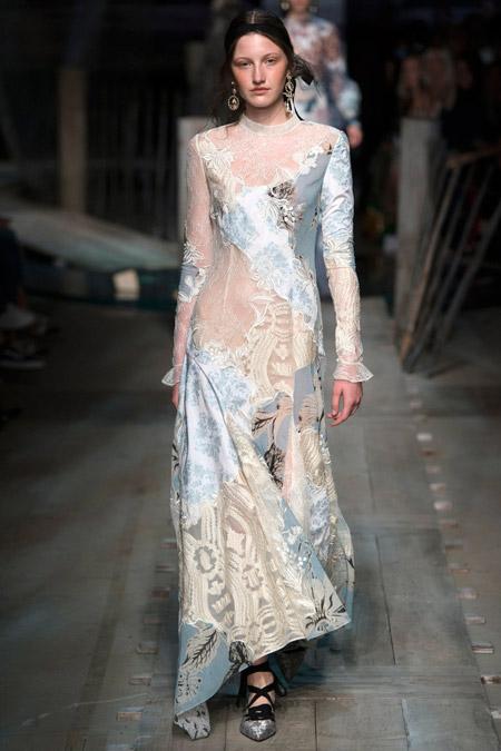 Erdem - модные вечерние платья сезона весна/лето 2017