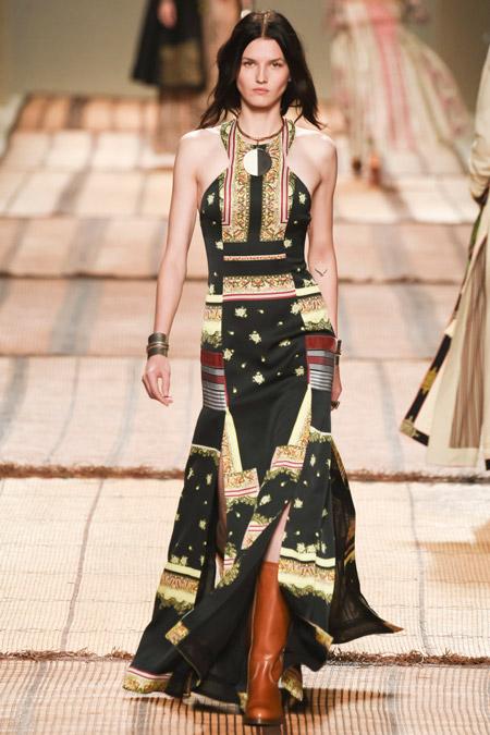 Etro - модные вечерние платья сезона весна/лето 2017