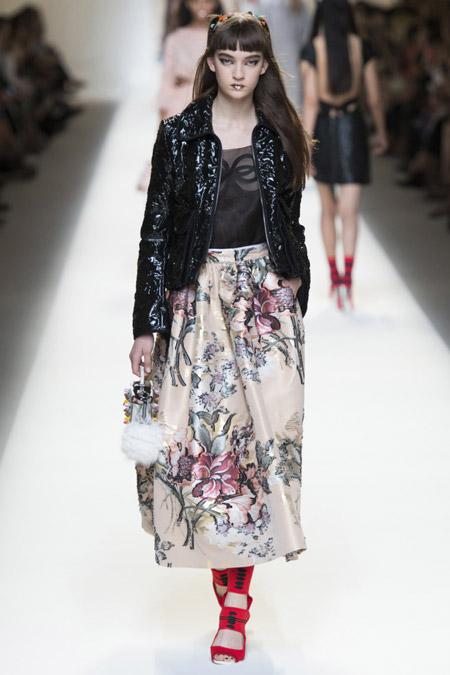 Fendi - модные куртки весна/лето 2017, женские