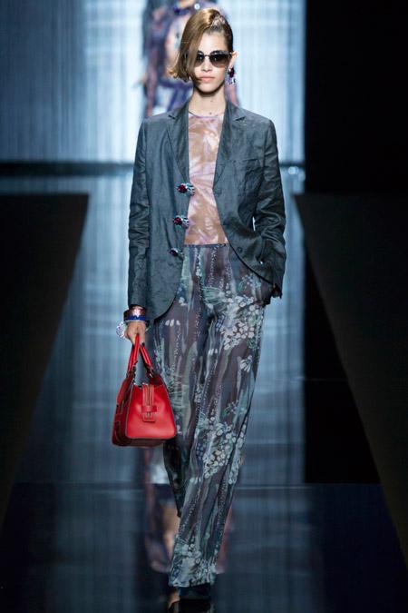 Giorgio Armani - Модные женские брюки весна/лето 2017, тенденции