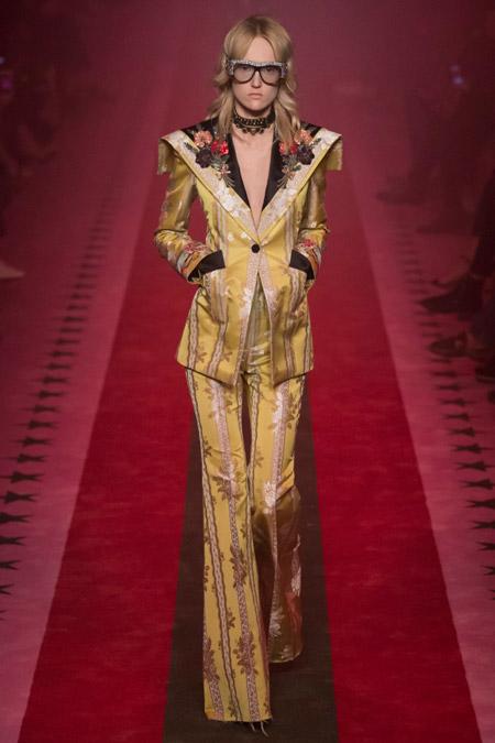 Gucci - Модные женские костюмы сезона весна/лето 2017