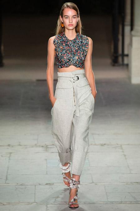 Isabel Marant - Модные женские брюки весна/лето 2017, тенденции