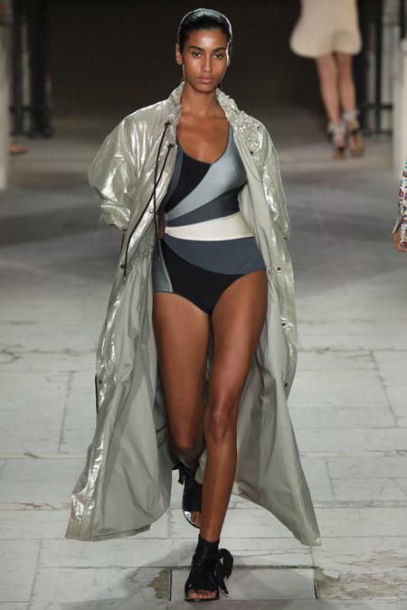 Isabel Marant - модные плащи весна/лето 2017