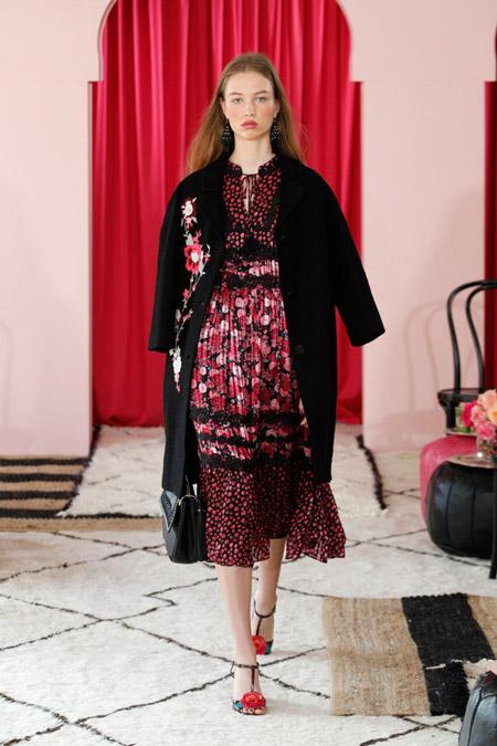 Kate Spade - модные женские пальто весна/лето 2017
