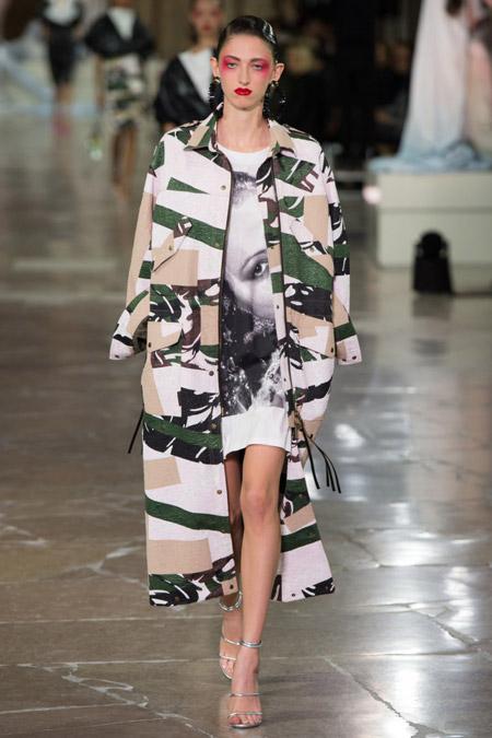 Kenzo - модные плащи весна/лето 2017
