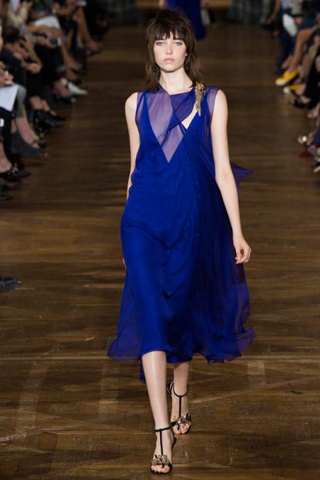 Lanvin - модные вечерние платья сезона весна/лето 2017