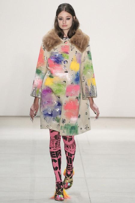 Libertine - модные женские пальто весна/лето 2017