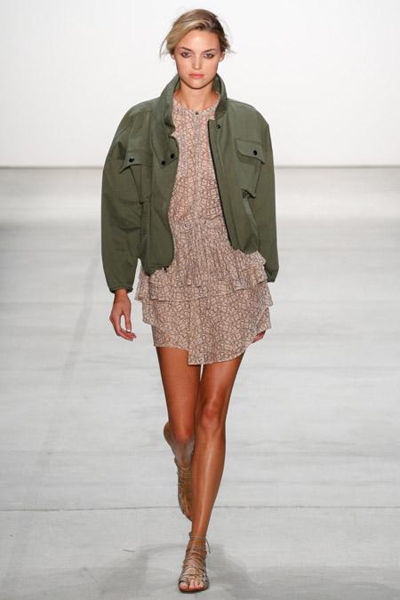 Marissa Webb - модные куртки весна/лето 2017, женские
