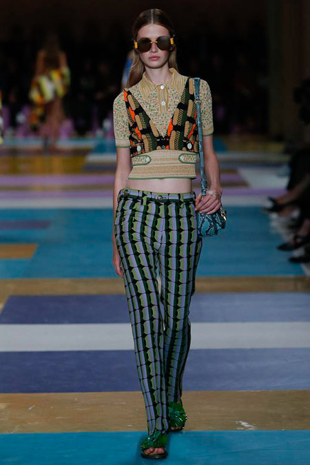 Miu-Miu - Модные женские брюки весна/лето 2017, тенденции