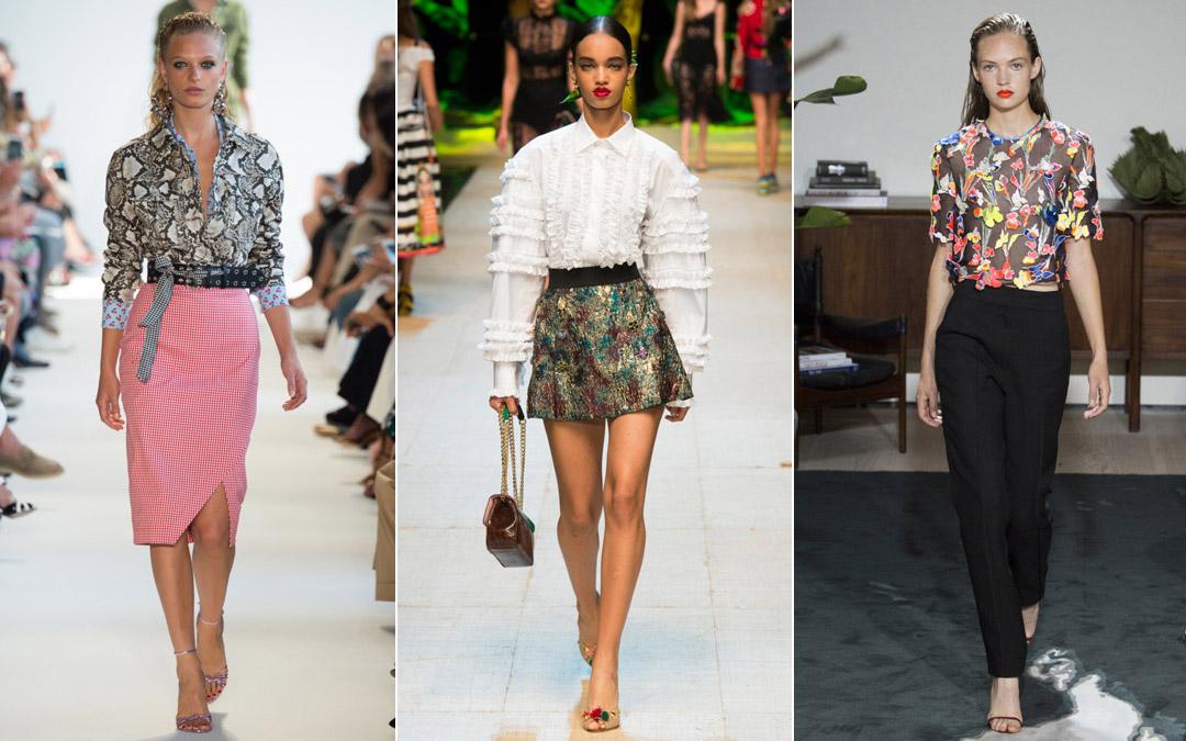 Модные блузки 2017 лето