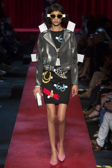 Moschino - модные куртки весна/лето 2017, женские