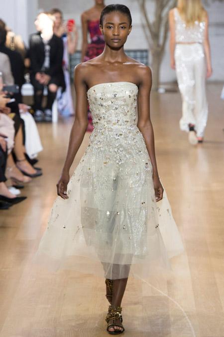 Oscar De La Renta - модные вечерние платья сезона весна/лето 2017