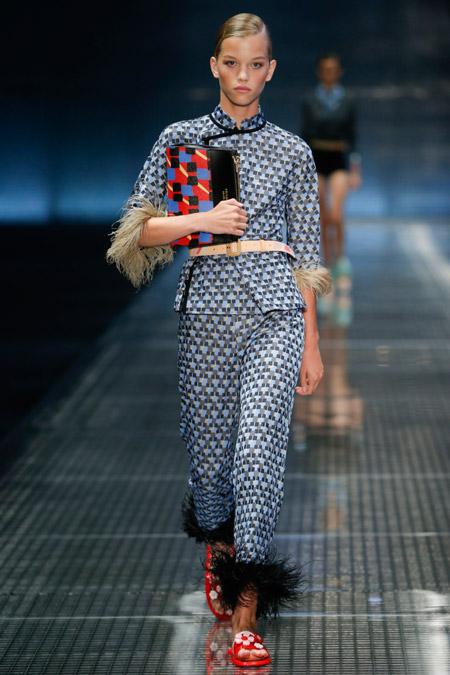 Prada - Модные женские костюмы сезона весна/лето 2017