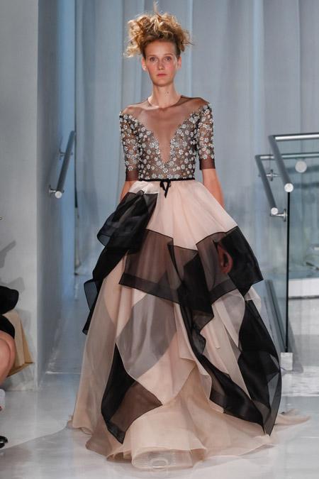 Reem Acra - модные вечерние платья сезона весна/лето 2017