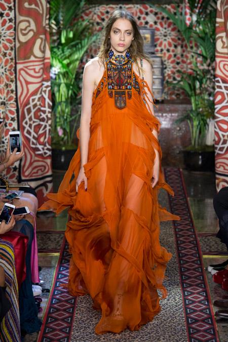 Roberto Cavalli - модные вечерние платья сезона весна/лето 2017