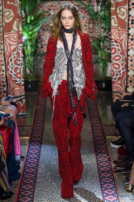 Roberto Cavalli - Модные женские костюмы сезона весна/лето 2017
