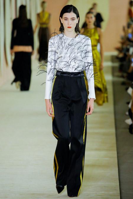 Roksanda - Модные женские брюки весна/лето 2017, тенденции