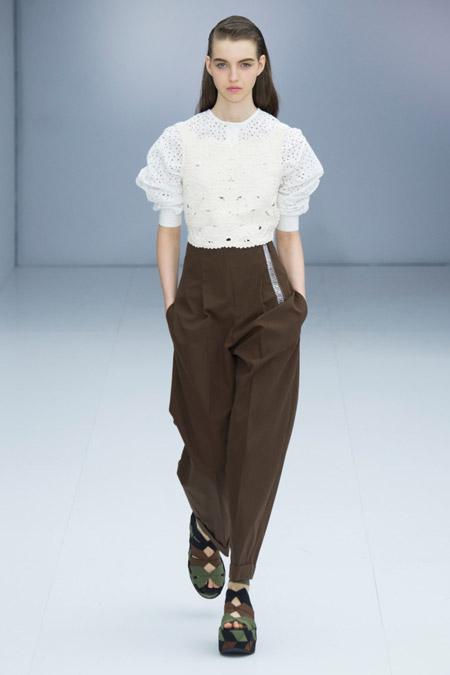 Salvatore Ferragamo - Модные женские брюки весна/лето 2017, тенденции