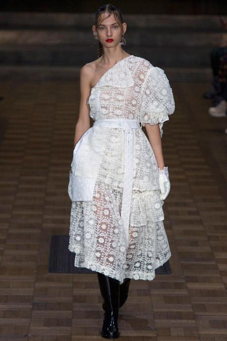 Simone Rocha - модные вечерние платья сезона весна/лето 2017