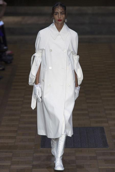 Simone Rocha - модные женские пальто весна/лето 2017