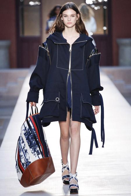 Sonia Rykiel - модные куртки весна/лето 2017, женские