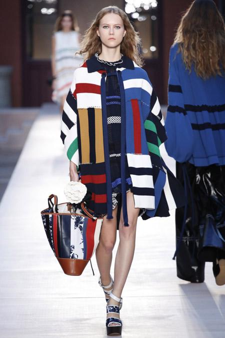 Sonia Rykiel - модные женские пальто весна/лето 2017