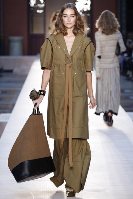 Sonia Rykiel - модные плащи весна/лето 2017
