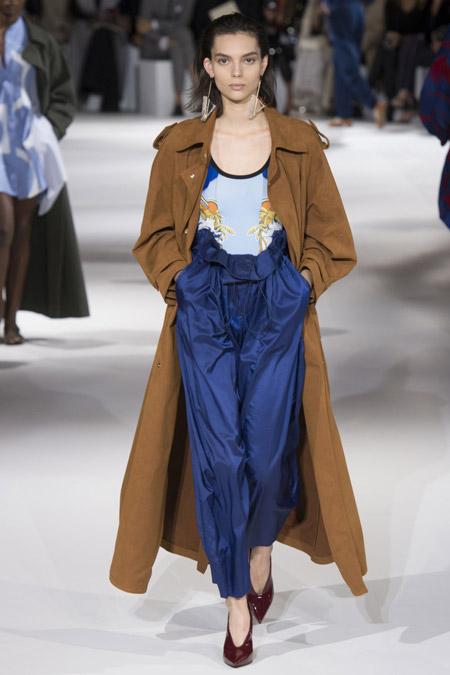 Stella McCartney - модные женские пальто весна/лето 2017