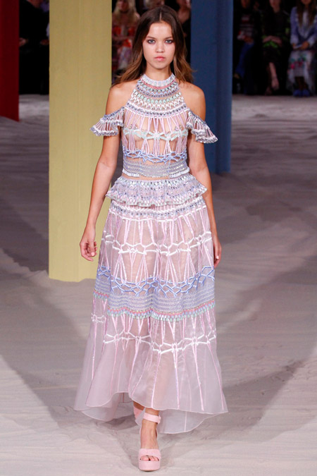 Temperley London - модные вечерние платья сезона весна/лето 2017