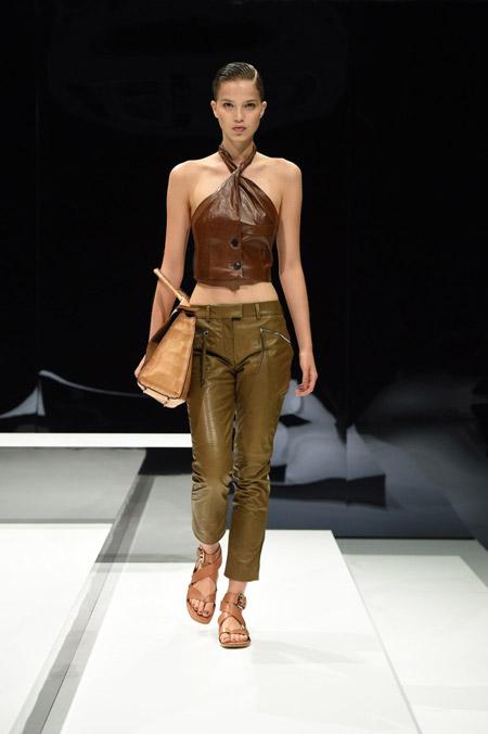 Tods - Модные женские брюки весна/лето 2017, тенденции
