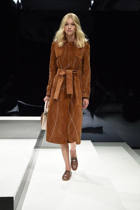 Tods- модные женские пальто весна/лето 2017