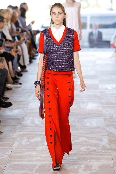 Tory Burch - Модные женские брюки весна/лето 2017, тенденции