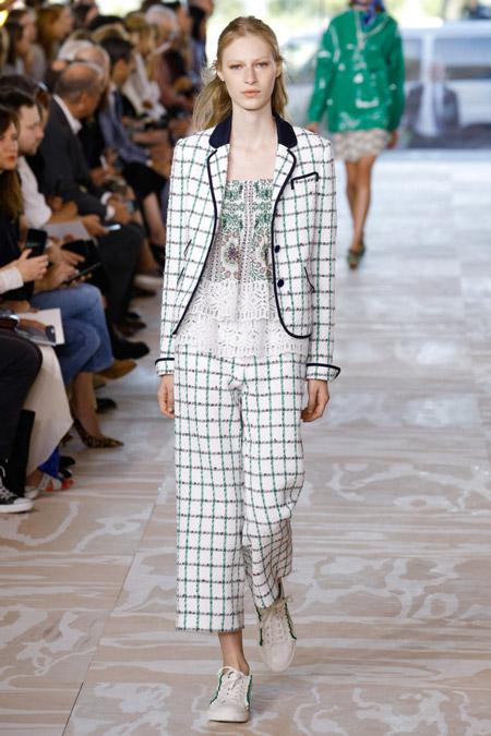 Tory Burch - Модные женские костюмы сезона весна/лето 2017