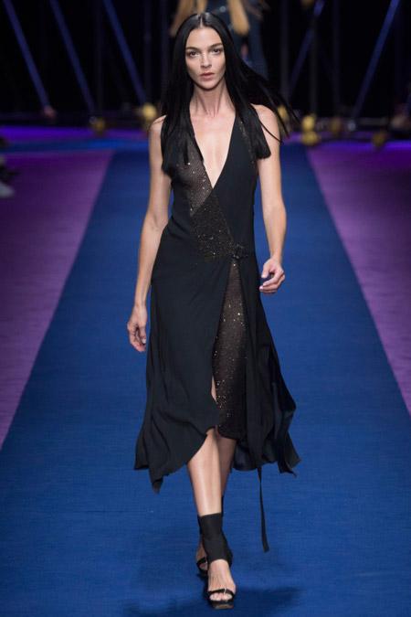Versace - модные вечерние платья сезона весна/лето 2017