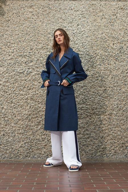 Victoria Victoria Beckham - модные плащи весна/лето 2017