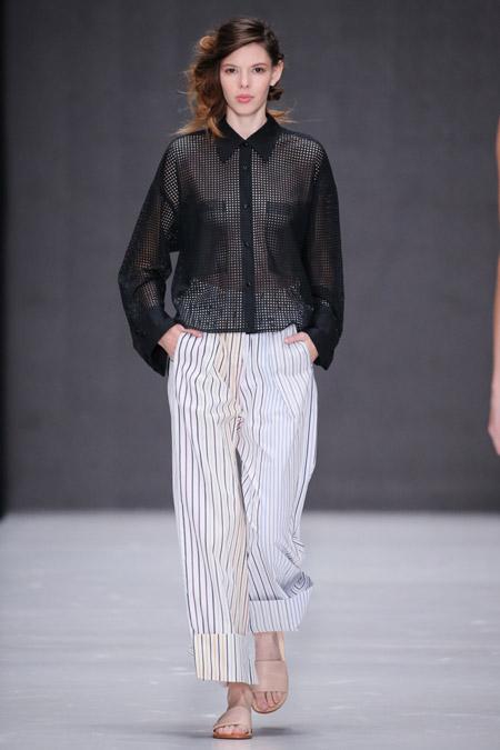 Yulia Nikolaeva - Модные женские брюки весна/лето 2017, тенденции