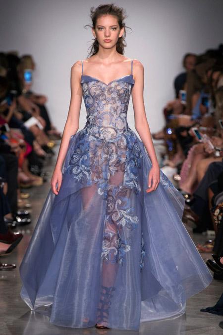 Zac Posen - модные вечерние платья сезона весна/лето 2017