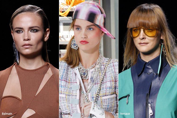 Модные аксессуары весна/лето 2017. Фото с показов: Balmain, Chanel, Versace