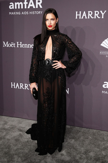 adriana-lima-dresses-skirts-sheer-dress