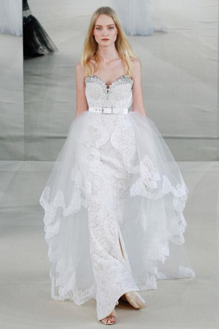 Белое вечернее платье от Alexis Mabille, коллекция 2017 года