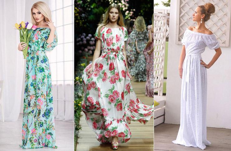 Dlinnyie-letnie-platya-kak-vyibrat-svoy-idealnyiy-variant-foto Летние платья 2019: модные платья лето
