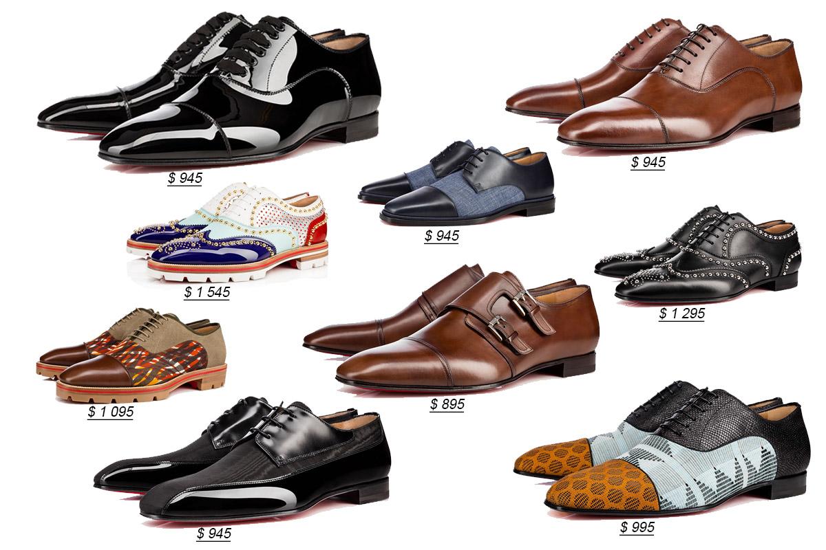 Мужские туфли от Кристиан Лубутен