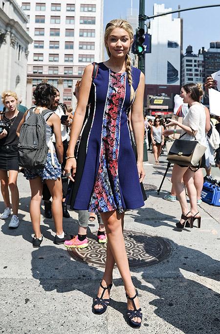 Неделя моды в Нью-Йорке, сентябрь 2014