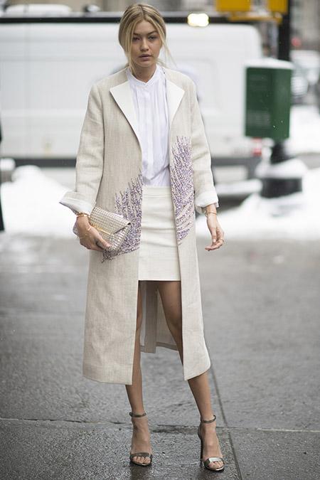 Неделя моды в Нью-Йорке, февраль 2015